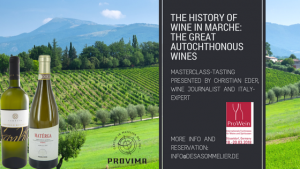 The History of wine in Marche_ the great autochthonous wines masterclass tasting by Christian Eder at the Prowein