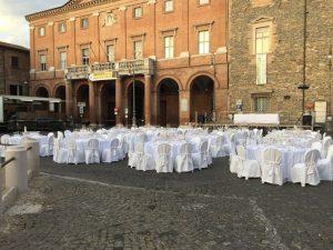 cena di gala in piazza mattei per i 50 anni del verdicchio di matelica DOC