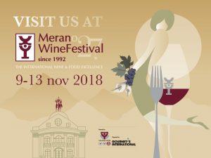 Merano wine Festival - 9-13 novembre 2018