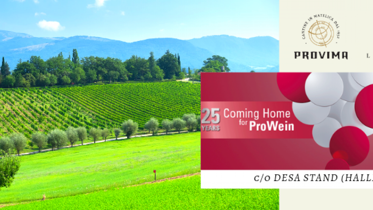 Prowein 2019 – I nostri vini in Germania