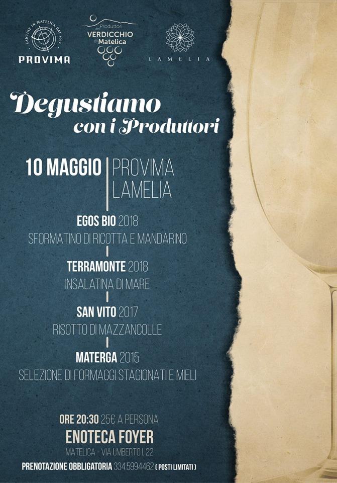 menu_degustiamo con i produttori_provima_lamelia_10maggio2019