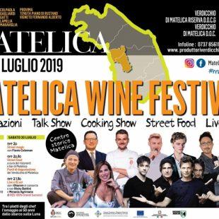MATELICA WINE FESTIVAL  – 19/20 luglio 2019