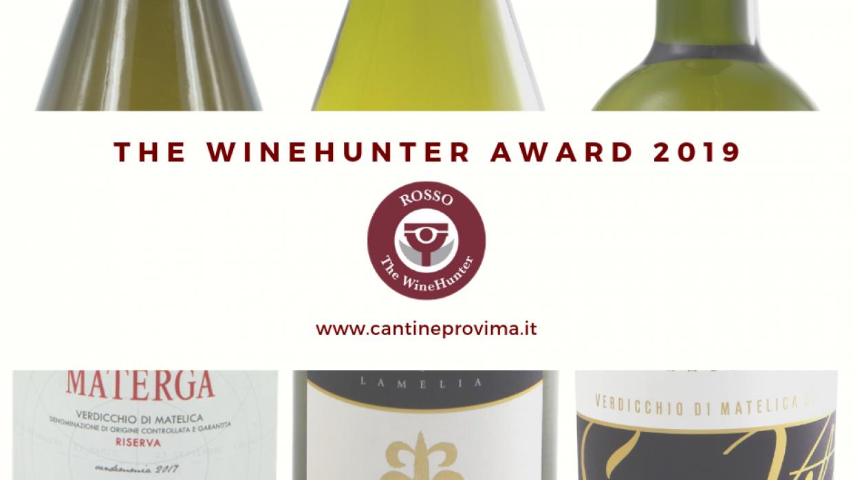 The Wine Hunter Award 2019: premiati 3 nostri Verdicchio di Matelica