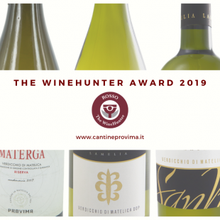 The Wine Hunter Award 2019: premiati 3 nostri Verdicchio di Matelica