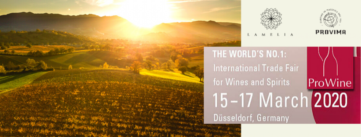 Prowein – 15-17 March 2020