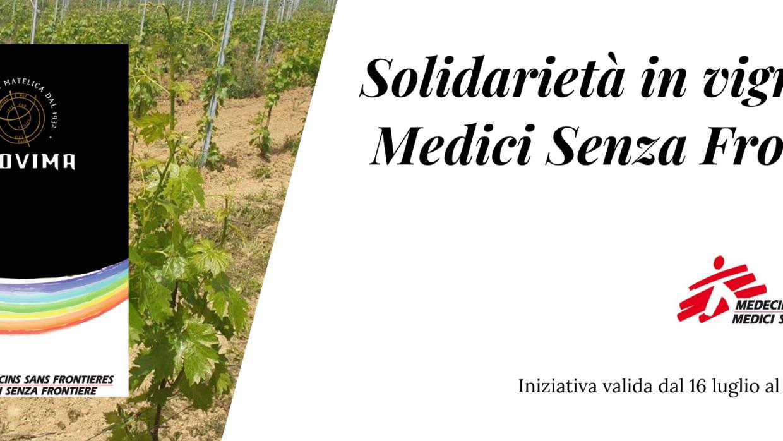 (Italiano) Vino, sport e solidarietà per Medici Senza Frontiere
